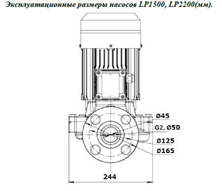 Эксплуатационные размеры насосов LP1500, LP2200(мм)..JPG