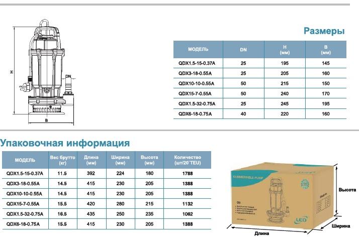 Габариты Насос для колодцев LEO QDX 1.5-32-0,75А, QDX 1.5-15-0,37А, QDX 6-18-0,75А.jpg